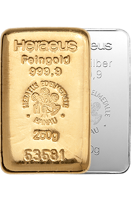Save money on Gold Bullions and coins - Choose your personal savings plan