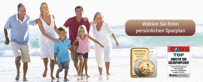 Gold & Silber - die Anleger bei AUVESTA – gewinnen