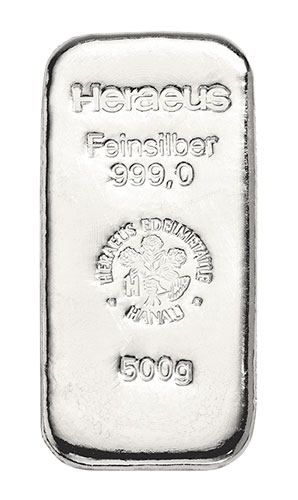 500g striebra